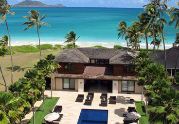 8 Bedroom Kailua               Beachfront Rental